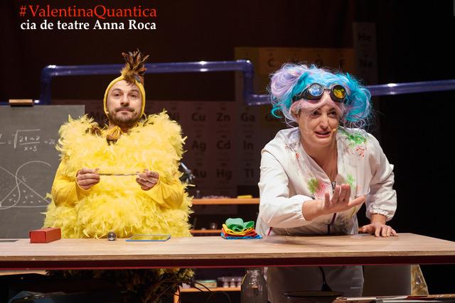 La companyia de Teatre Anna Roca estrenarà l'espectacle Valentina Quàntica a la Mostra d'Igualada