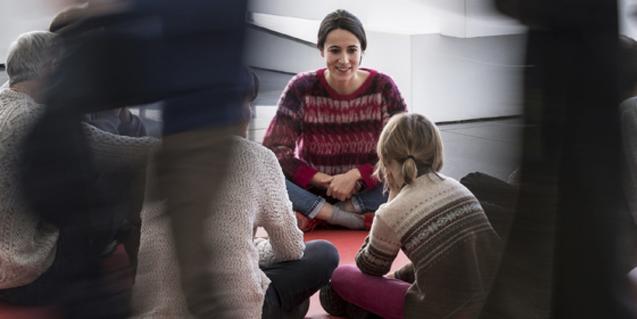 El MACBA programa Flatus vocis, un taller familiar per a infants amb autismes.